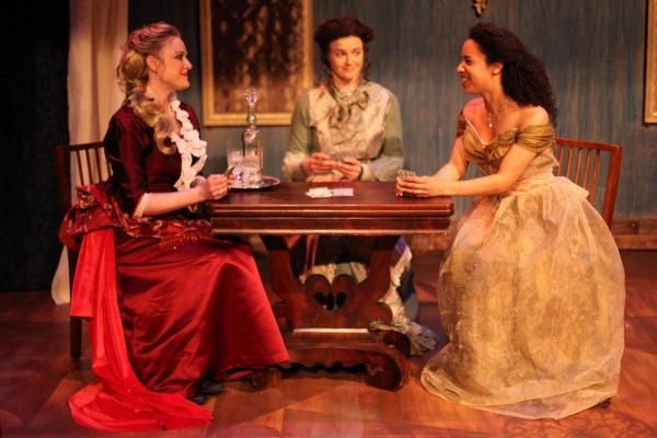 Sara Pavlak McGuire, Alexandra Bennett and Emma Ladji Photo