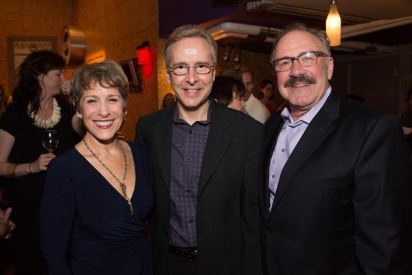 Naomi Jacobson (Fraulein Schneider), Jon Kalbfleisch (Music Director), and Rick Foucheux