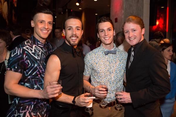 Jordan DeBona, Mark Chandler, Joseph Tudor, and Kurt Boehm Photo