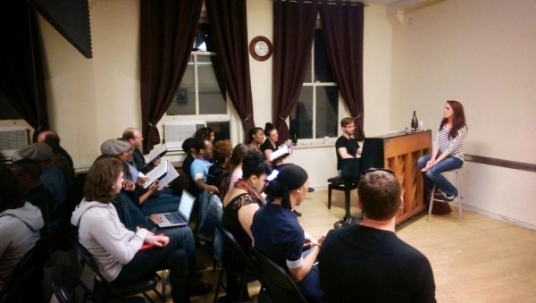 Photo Flash: New Musical FREEDOM'S SONG in Rehearsal