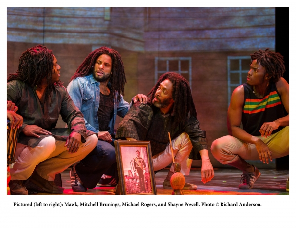 Photo Flash: First Look at Mitchell Brunings and More in Center Stage's World Premiere of MARLEY