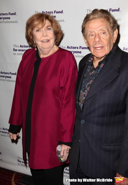 Anne Meara & Jerry Stiller.attending the Actors Fund Gala honoring Harry Belafonte, J Photo