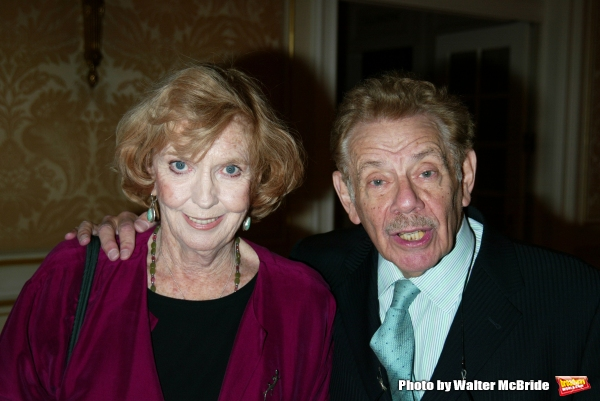 ANNE MEARA and JERRY STILLER Attending the Signature Theatre Company Honors Event at the Essex House, New York City. May 5, 2003