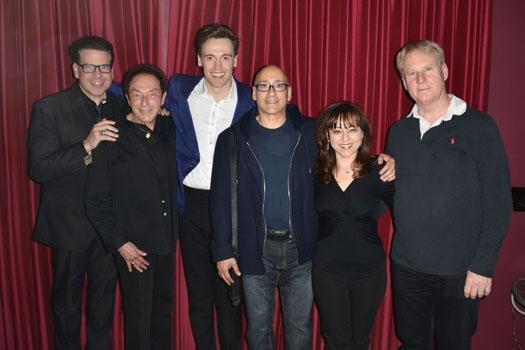 Michael Orland, Marty Panzer, Erich Bergen, Allan Rich, Debra Gussin, Gregg Rader
