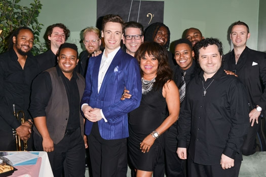 Erich Bergen, Michael Orland and Band