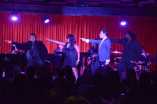 Photos: Erich Bergen Performs Live at Catalina Jazz Club