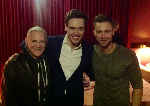 Photo Flash: Erich Bergen Performs Live at Catalina Jazz Club