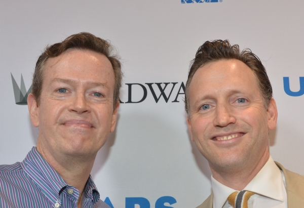 Dylan Baker and Rufus Wright Photo