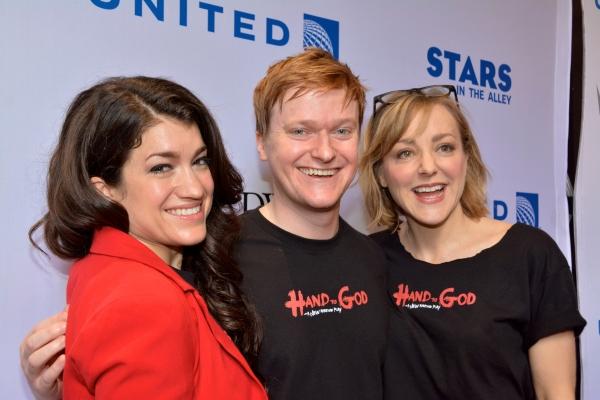 Sarah Stiles, Steven Boyer and Geneva Carr