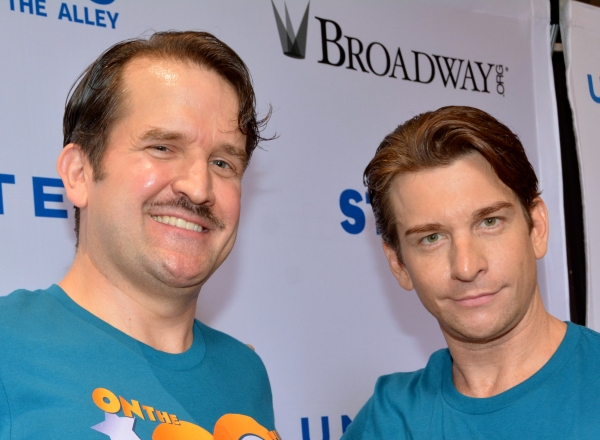 James Moye and Andy Karl