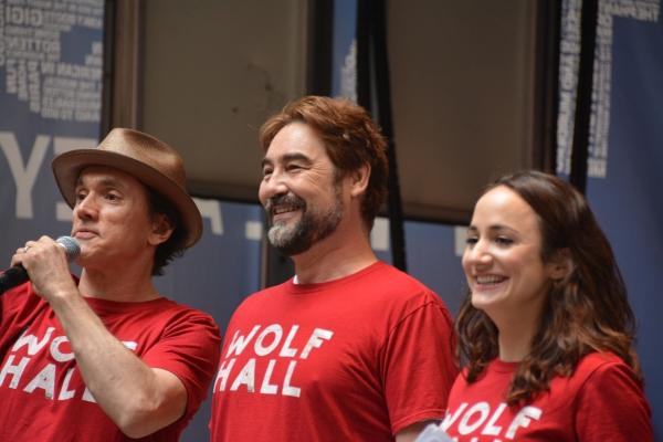 Ben Miles, Nathaniel Parker and Lydia Leonard