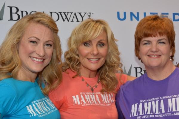 Alison Ewing, Judy McLane and Mary Callanan