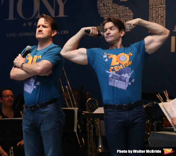 Photo Coverage: Singin' in the Street! Broadway Unites for Another Year of Stars in the Alley - Part Two