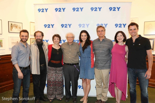 Alan Schmuckler, Jonathan Hadary, Judy Blazer, Sheldon Harnick, Kerry Conte, Rob Fish Photo
