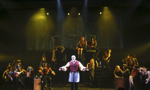 The company with Philip Hoffman Photo