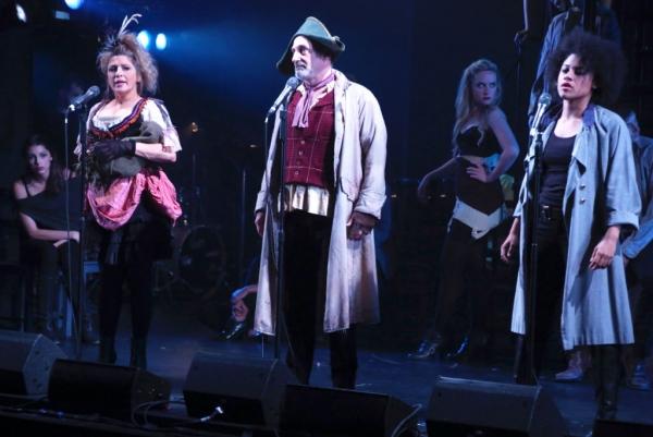 Liz Larsen, Philip Hoffman and Ariana DeBose Photo