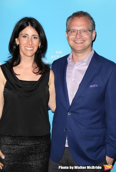 David Javerbaum and wife