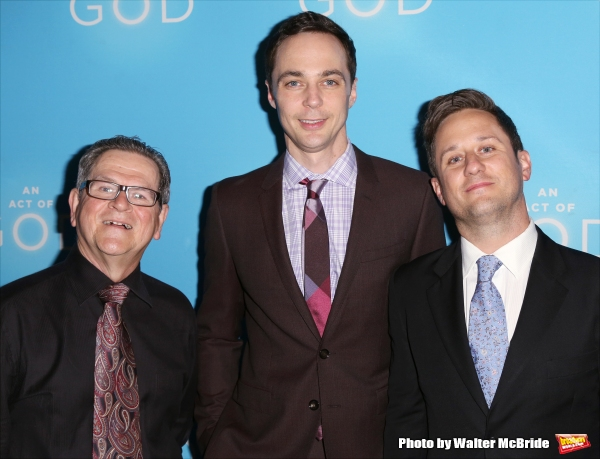 Tim Kazurinsky, Jim Parsons and Christopher Fitzgerald