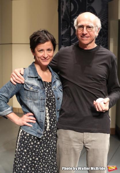Anna Shapiro and Larry David  Photo