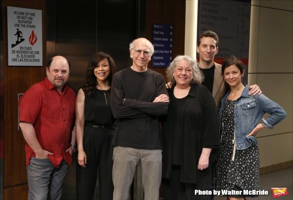 Jason Alexander, Rosie Perez, Larry David, Jayne Houdyshell, Ben Shenkman and Anna Shapiro