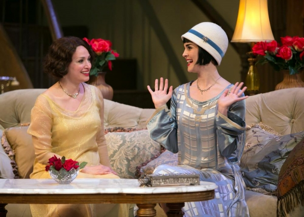 Julie Cavendish (Roxanna Hope) and daughter Gwen Cavendish (Samantha Bruce) share a moment in the Cavendish home.