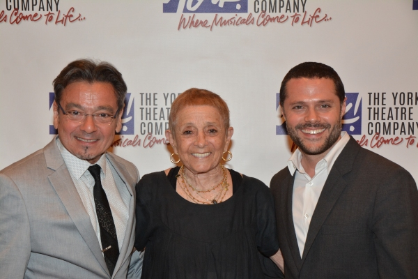 Bill Castellino, Patricia Birch and Joshua Bergasse