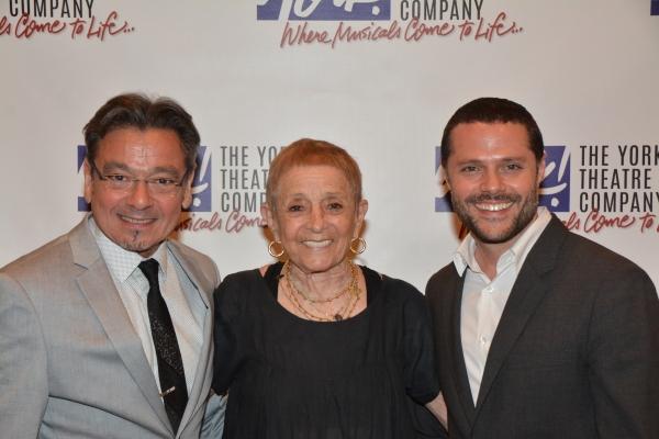 Bill Castellino, Patricia Birch and Joshua Bergasse