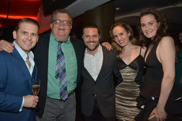Robert Creighton, James Morgan, Joshua Bergasse, Ellen Zolezzi and Danette Holden