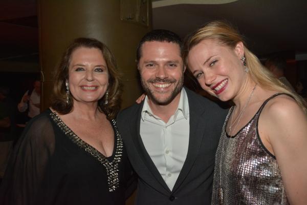 Randie Levine-Miller, Joshua Bergasse and Sarah Mearns