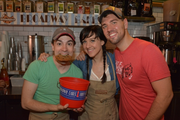 Photo Coverage: Audra McDonald, Will Swenson, and More Serve up Sweets at Schmackary's Annual BROADWAY BAKES