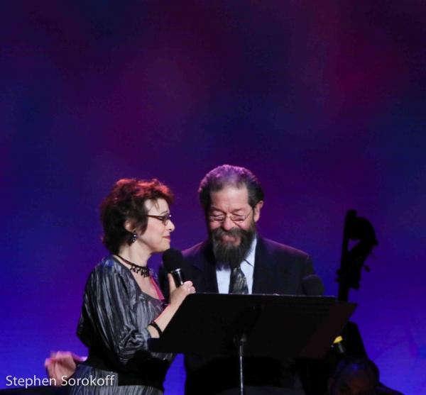 Judy Blazer & Jonathan Hadary