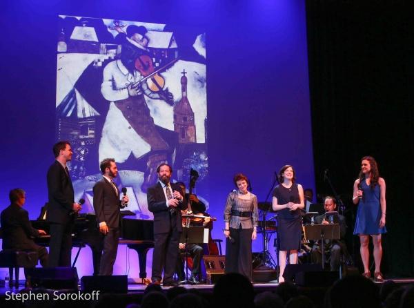 Ross Lekites, Alan Schmuckler, Jonathan Hadary, Judy Blazer, Leah Horowitz, Kerry Con Photo