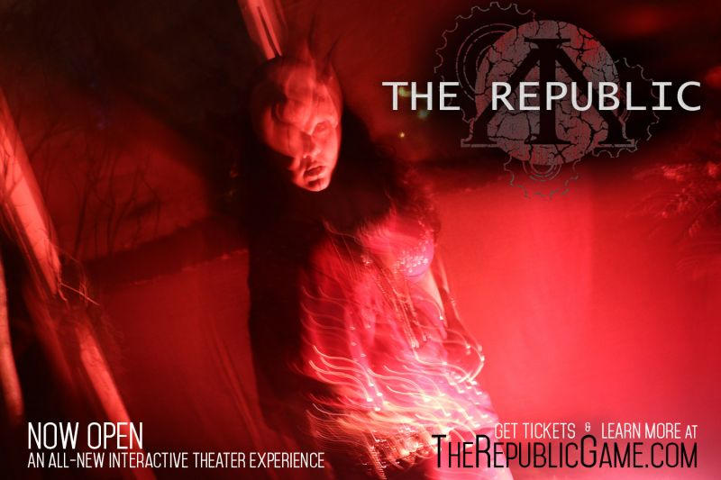 BWW Review: Despite Flaws, THE REPUBLIC Offers One of Orlando's Most Uniquely Entertaining Experiences