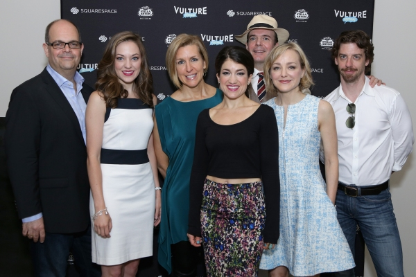 Brad Oscar, Laura Osnes, Susan Blackwell, Sarah Stiles, Jefferson Mays, Geneva Carr and Christian Borle
