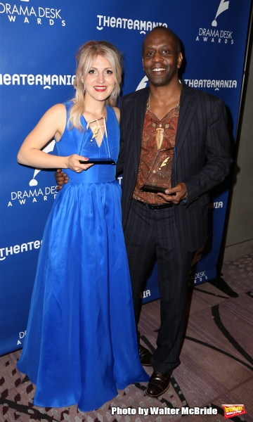 Annaleigh Ashford and K. Todd Freeman