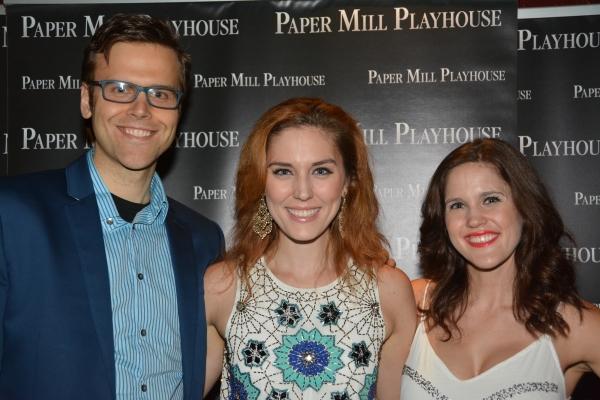 Aaron Gaines, Mara Davi and Melody Davi