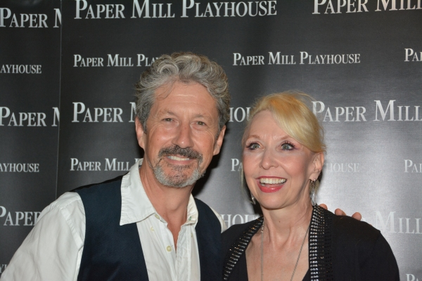 Charles Shaughnessy and Julie Halston