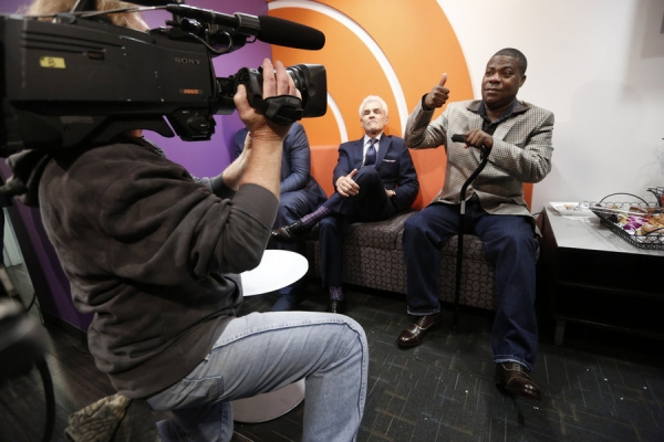 TODAY -- Pictured: Tracy Morgan appears on NBC News'' ''Today'' show on Monday, June 1, 2015 -- (Photo by: Peter Kramer/NBC)