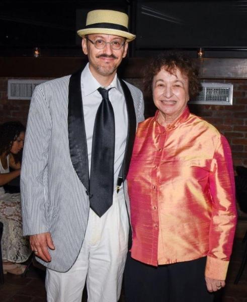 Will Pomerantz, Nancy Harrow Photo