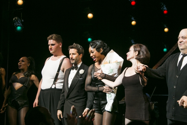 Dylan Ratell, Marco Zunino, Brandy Norwood, Donna Marie Asbury and Raymond Bokhour