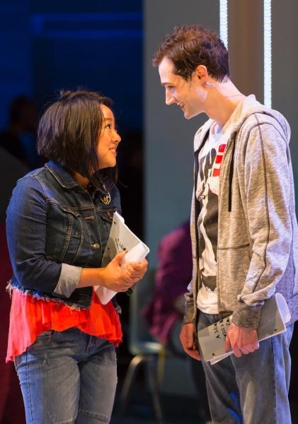 Stephanie Hsu and Will Connolly