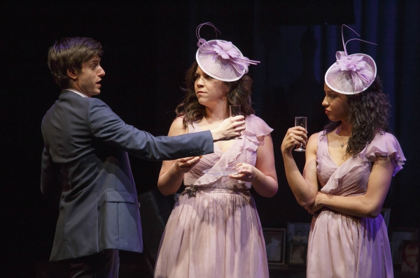 Gideon Glick, Lindsay Mendez and Carra Patterson