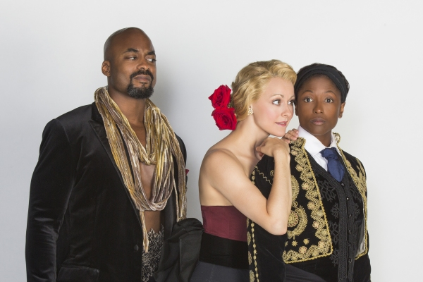 Terence Archie appears as Orsino, Sara Topham as Olivia, and Rutina Wesley as Viola