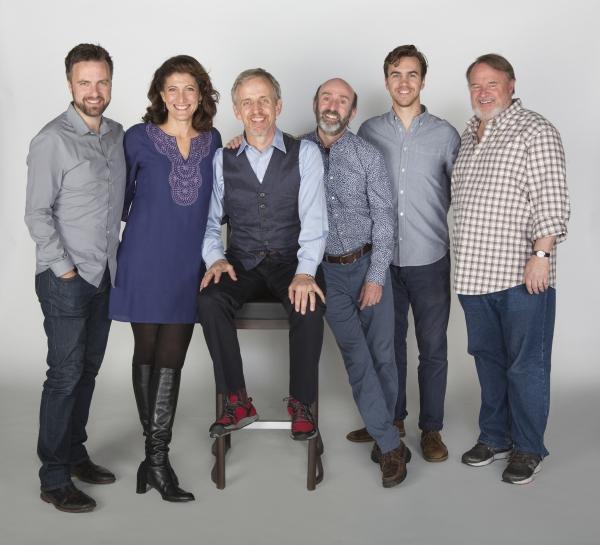 Manoel Felciano, Amy Aquino, Robert Joy, Patrick Kerr, Daniel Petzold, and Tom McGowan