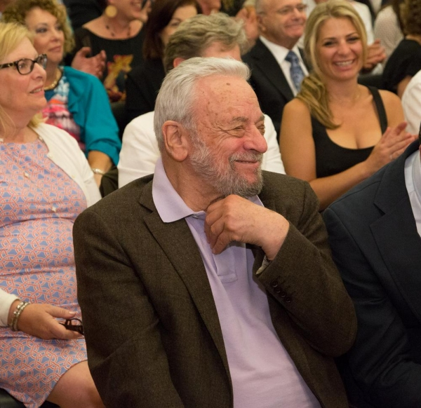 Composer/Lyricist Stephen Sondheim appeared at the Arden Theatre Company on Monday, June 1st, to accept the Ardenâ�¿��¿�s inaugural Master Storyteller Award.
