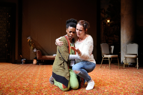 Mia Ellis as Joan and Rachael Warren as Tilly