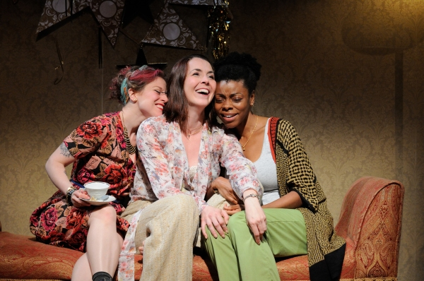 Rebecca Gibel as Frances, Rachael Warren as Tilly and Mia Ellis as Joan