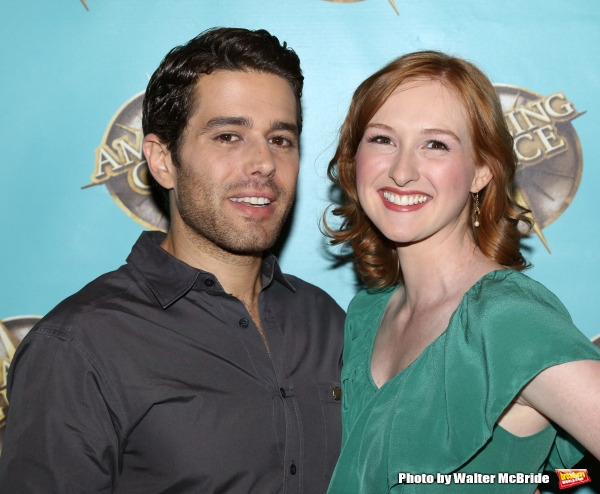 Josh Young and Erin Mackey