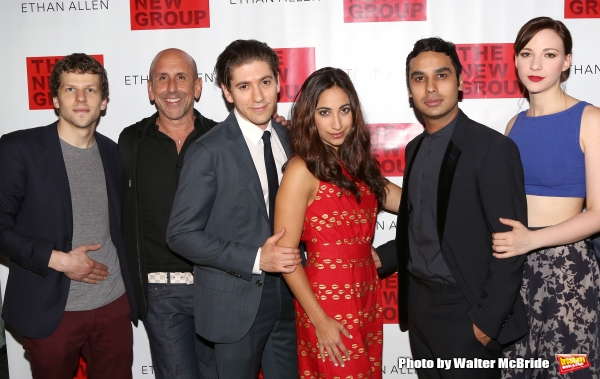 Jesse Eisenberg, Scott Elliott, Michael Zegen, Annapurna Sriram, Kunal Nayyar and Erin Drake