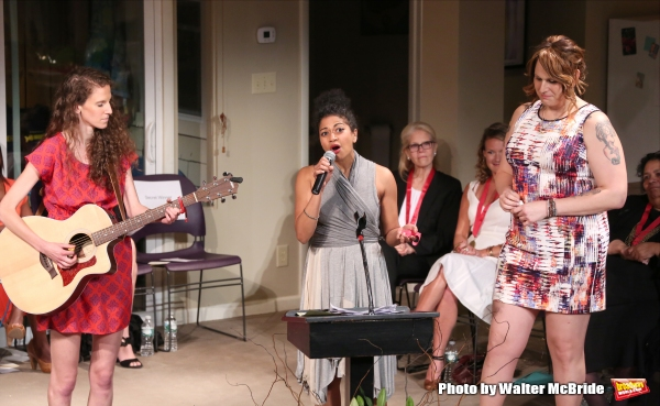 Zoe Sarnak, Rebecca Naomi Jones and Shakina Nayfack